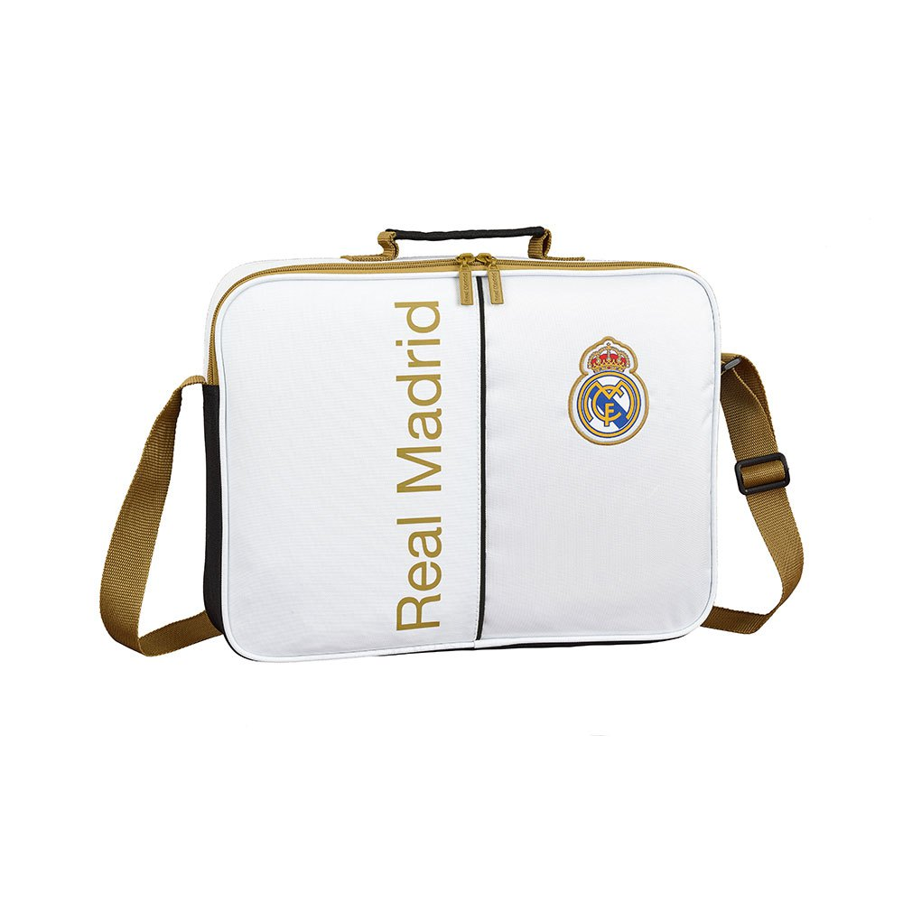 Safta Real Madrid Home 19/20 School 6.4l One Size White / Black