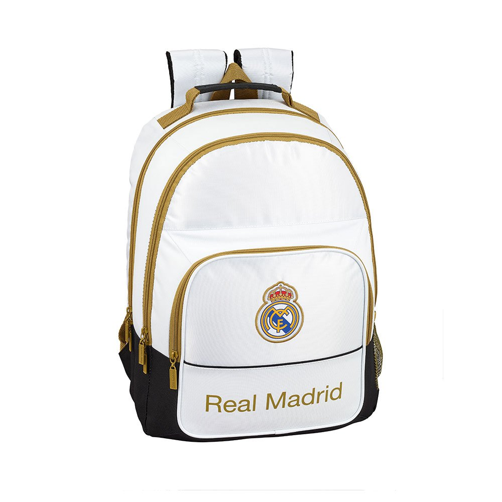 Safta Real Madrid Home 19/20 Double 21.5l One Size White / Black