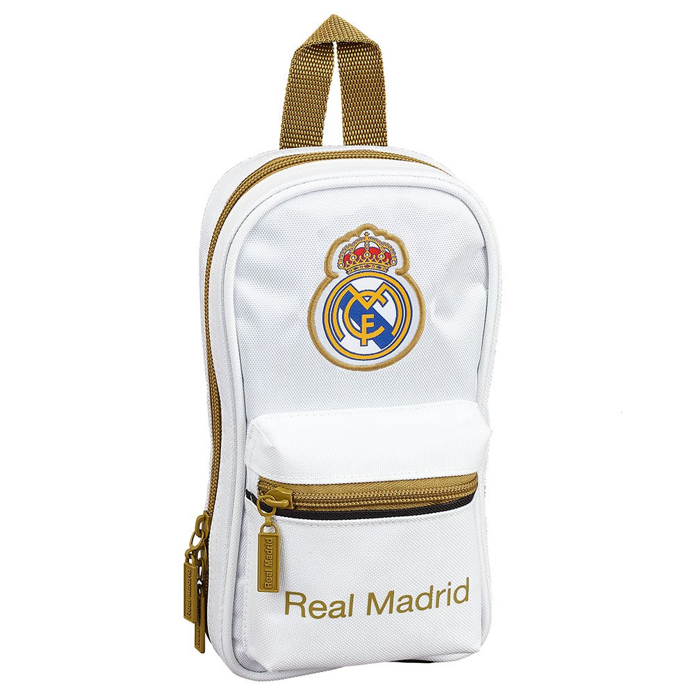 Safta Real Madrid Home 19/20 Pencil Case Filled One Size White / Black