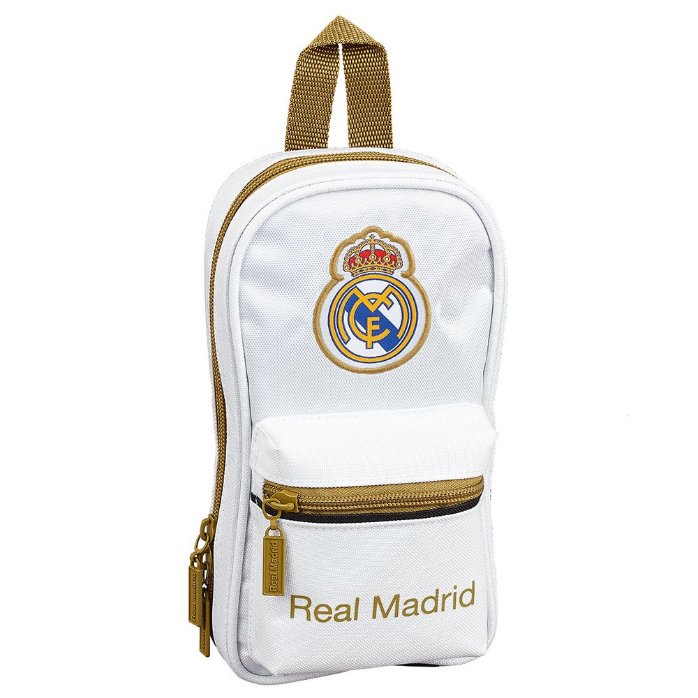 Safta Real Madrid Home 19/20 Pencil Case Empty One Size White / Black