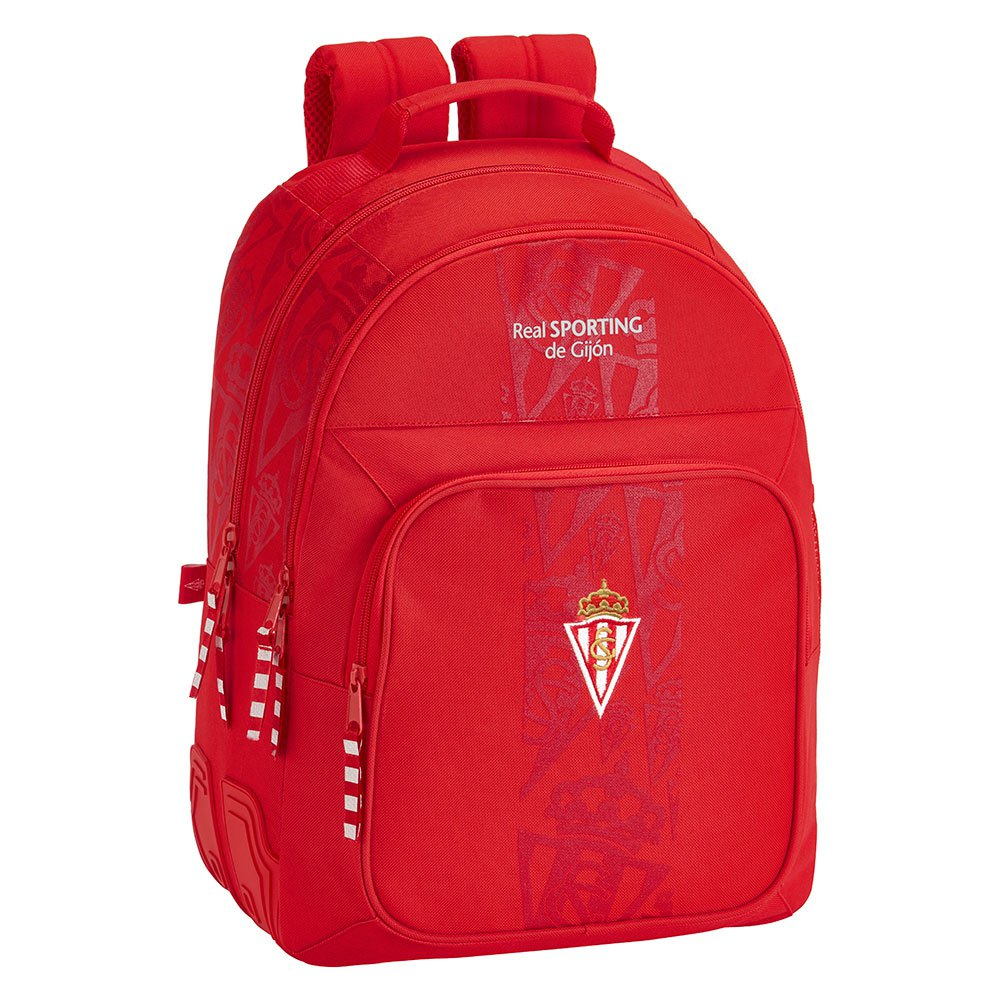 Safta Sporting Gijon Corporate Double 20.2l One Size Red