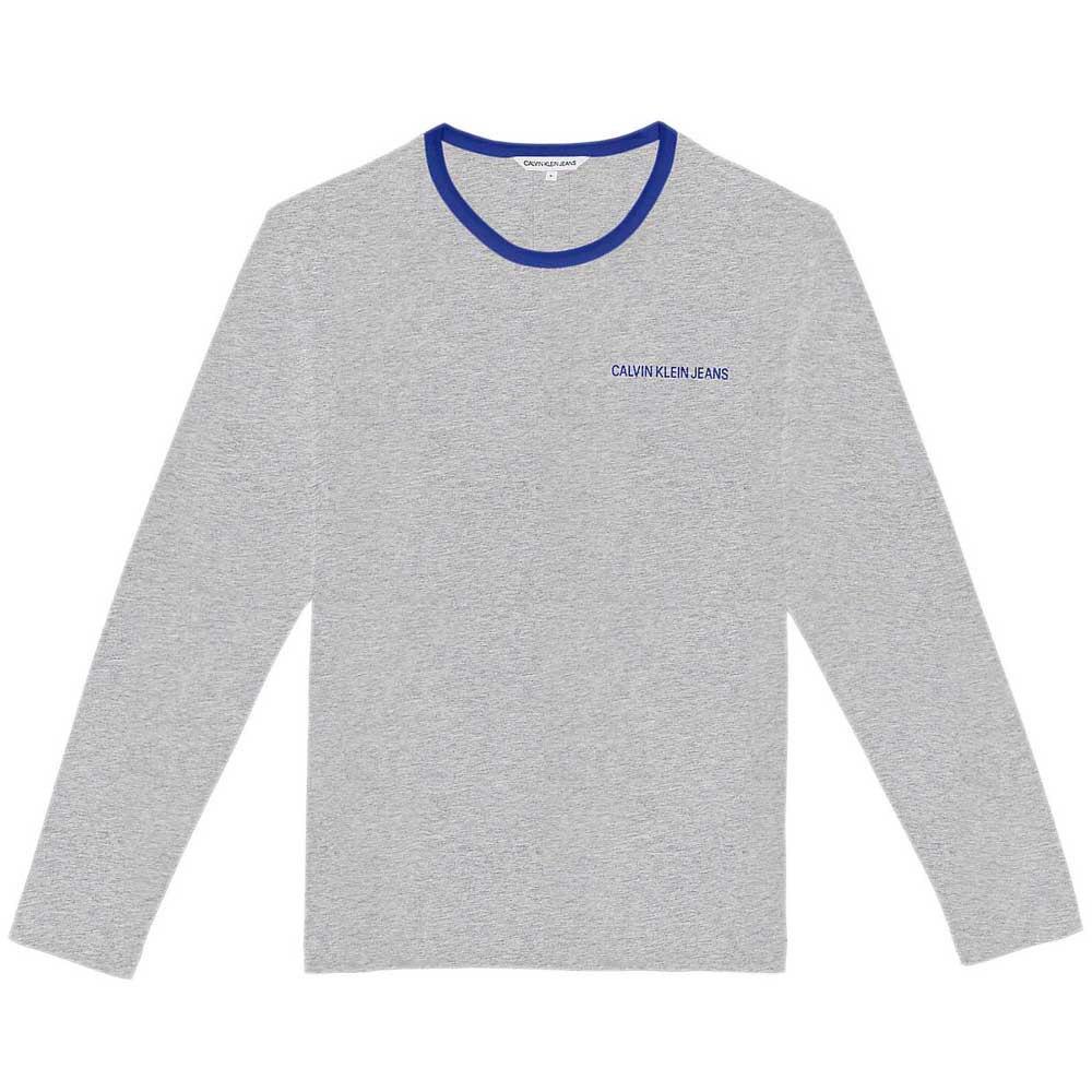 Calvin Klein Jeans Logo Tape M Grey Melange / Mazarine Tape