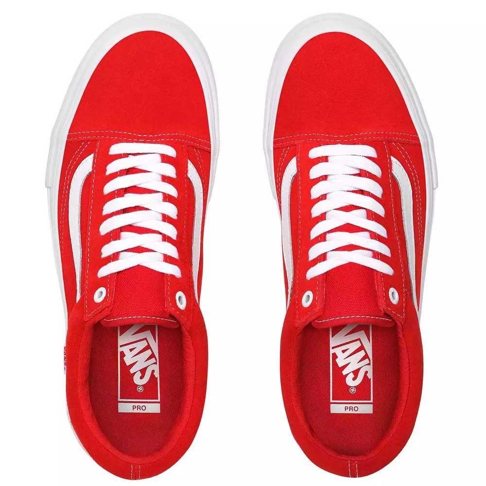 Détails sur Vans Old Skool Pro Rouge T80479 Baskets Homme Rouge , Baskets Vans , mode