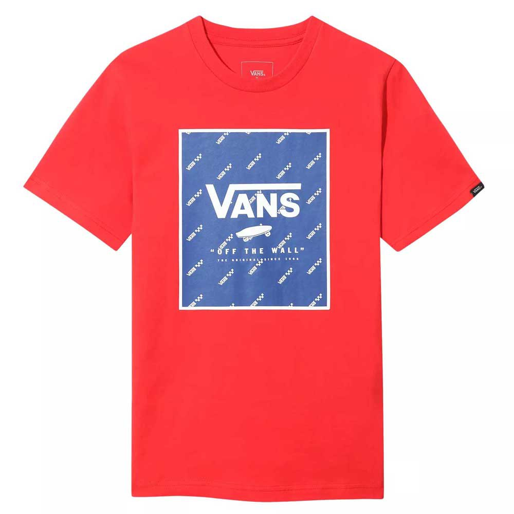 Vans Print Box Young L Racing Red / Sodalite Blue
