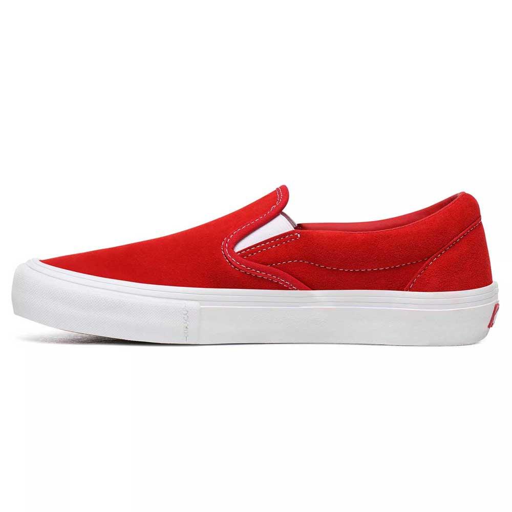 Détails sur Vans Slip on Pro Rouge T41437 Baskets Homme Rouge , Baskets Vans , mode