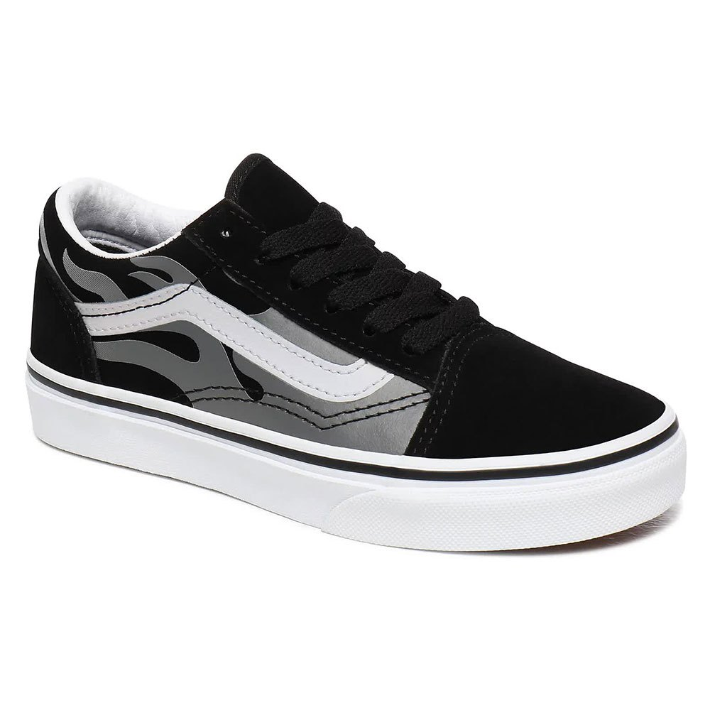 Vans Old Skool Young EU 33 Black / True White / Silver