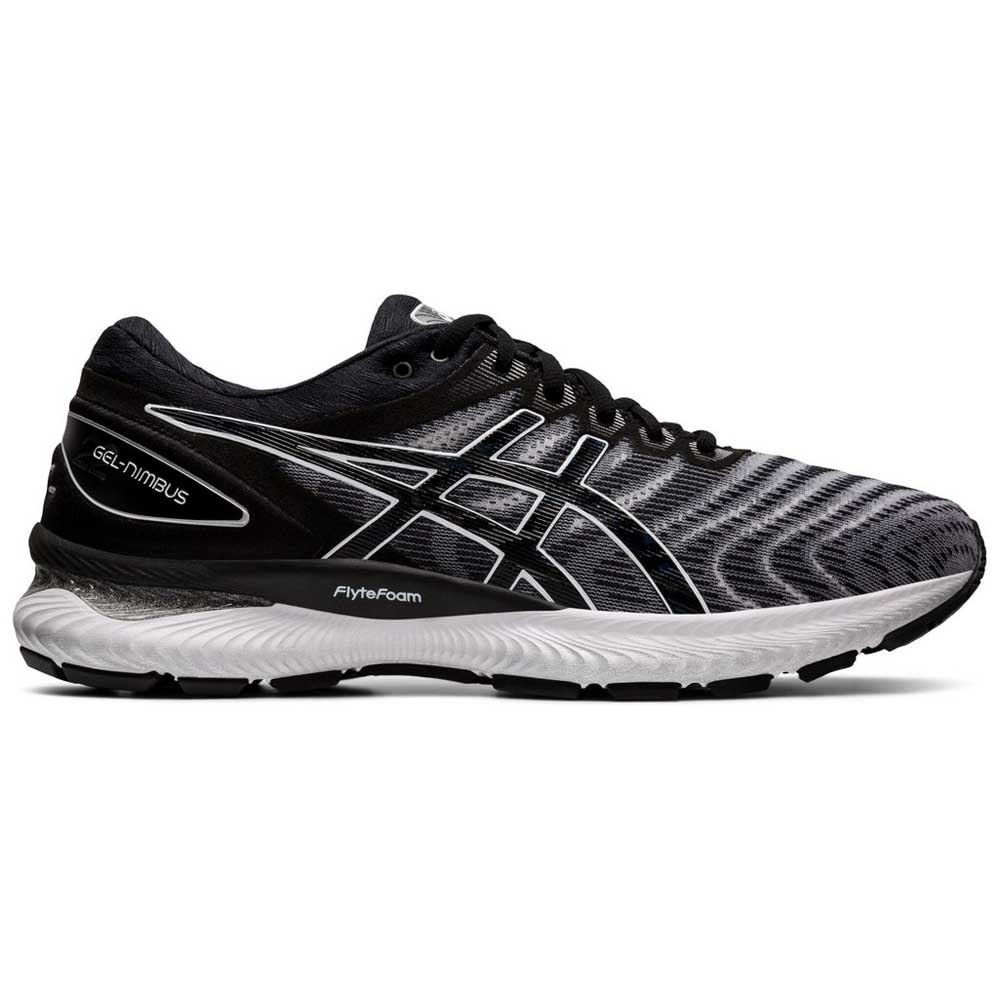 Asics Gel Nimbus 22 EU 44 1/2 Black / White