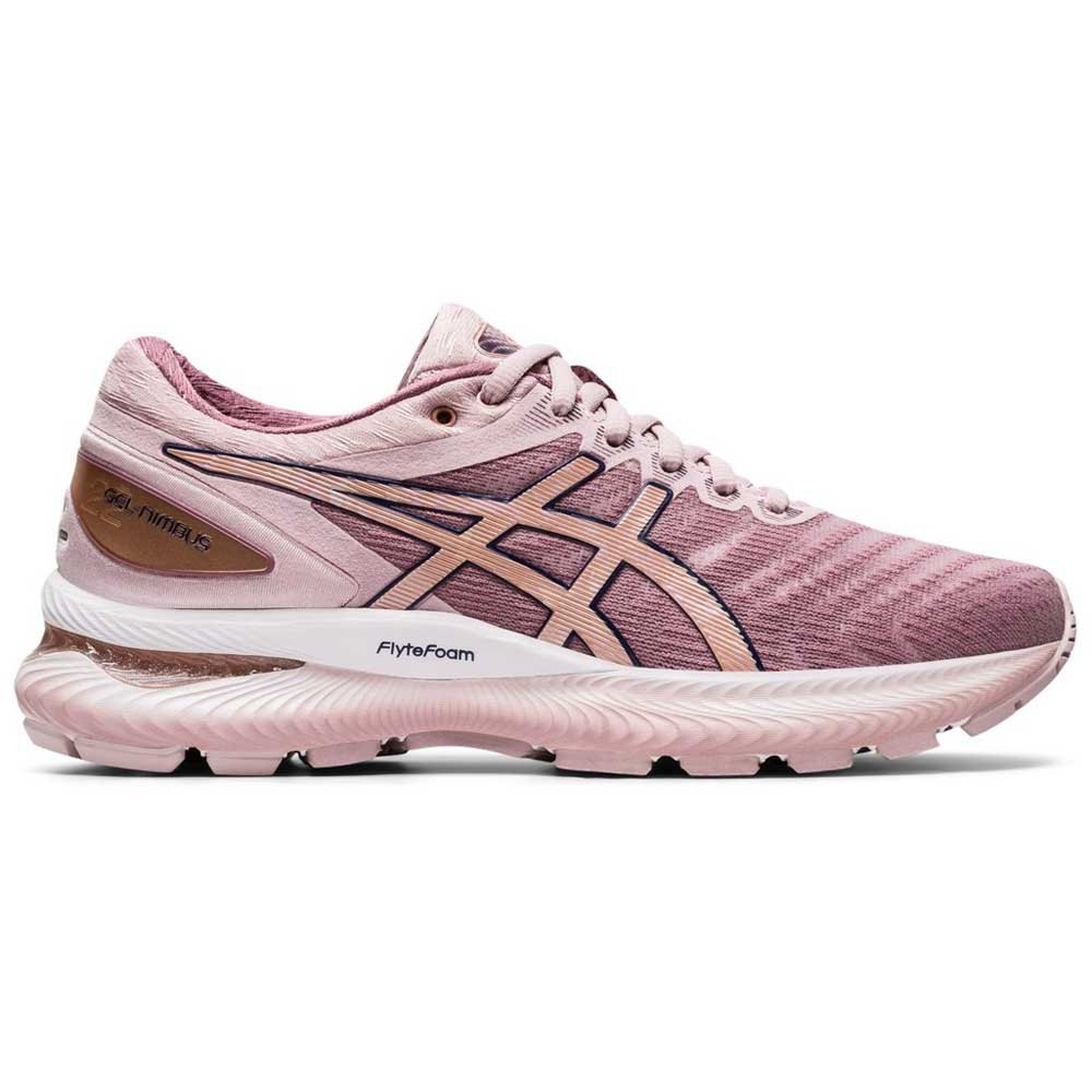 Asics Gel Nimbus 22 EU 43 1/2 Watershed Rose / Rose Gold