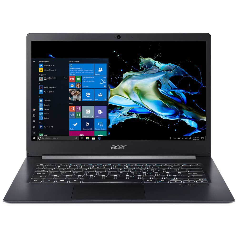 Portátil Acer Travelmate X5 Tmx514-51t Touch 14'' I5-8265u/8gb/512gb Ssd Spanish QWERTY Black