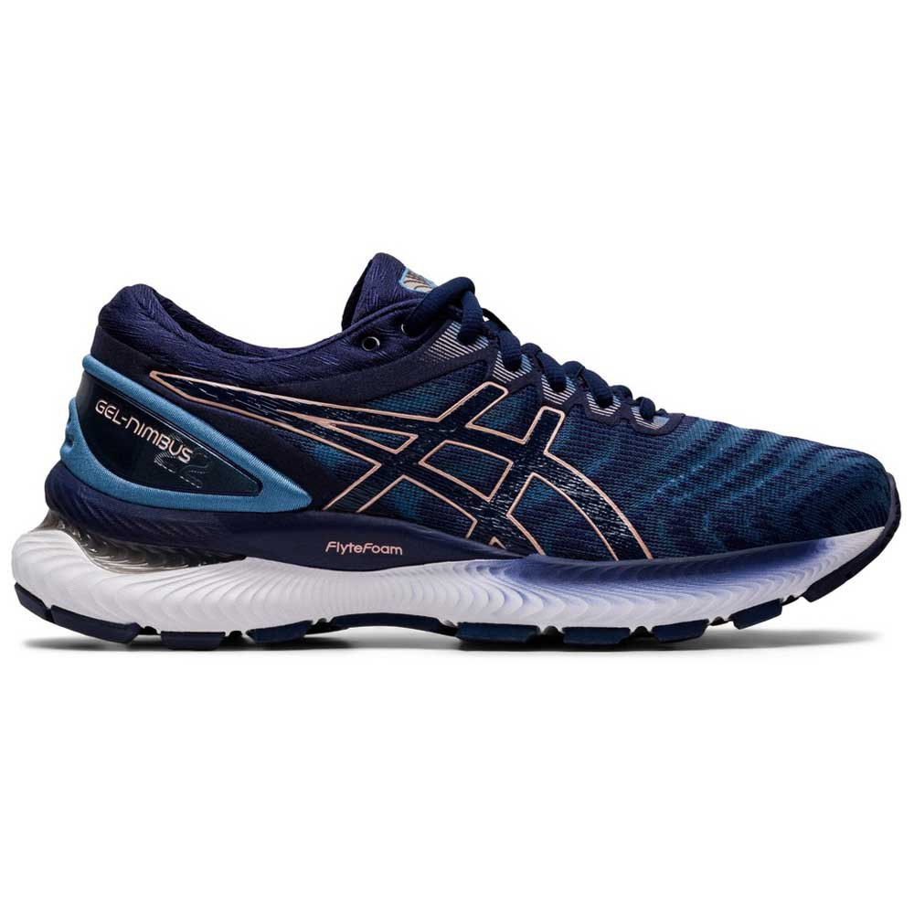 Asics Gel Nimbus 22 EU 42 Grey Floss / Peacoat