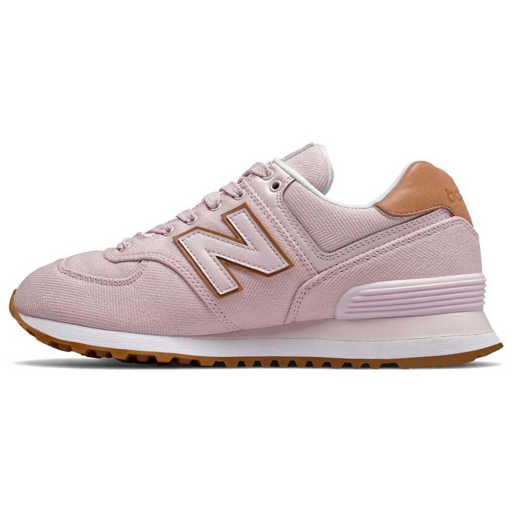 bambas mujer new balance rosa