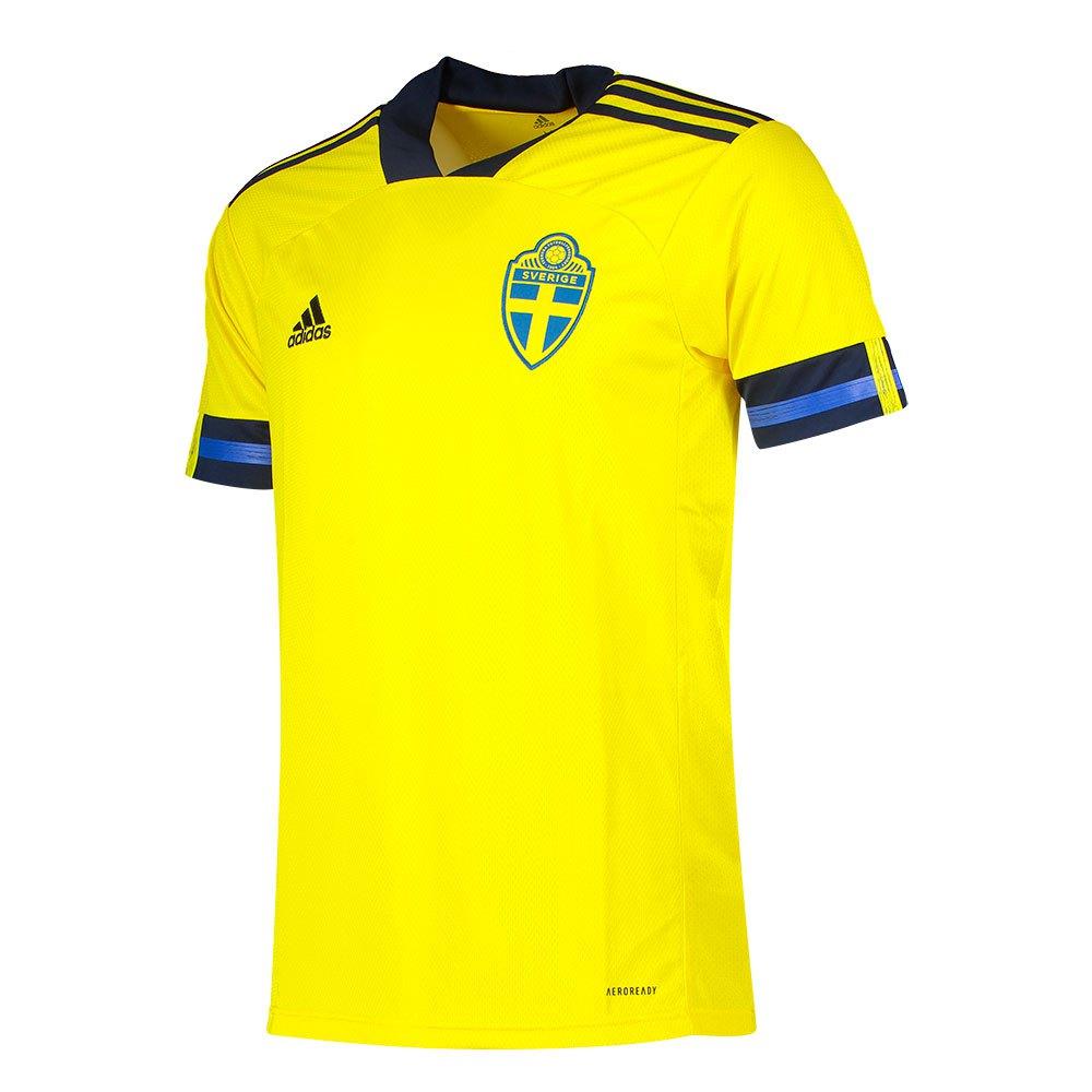Adidas T-shirt Suède Domicile 2020 XL Yellow / Night Indigo