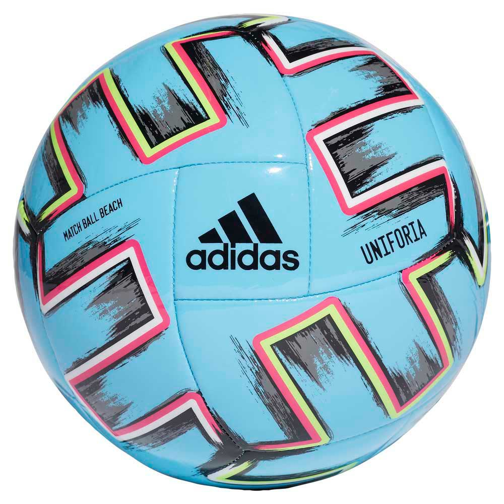 Adidas Uniforia Pro Uefa Euro 2020 Beach Football Ball 5 Bright Cyan / Black / Signal Green / Shock Pink