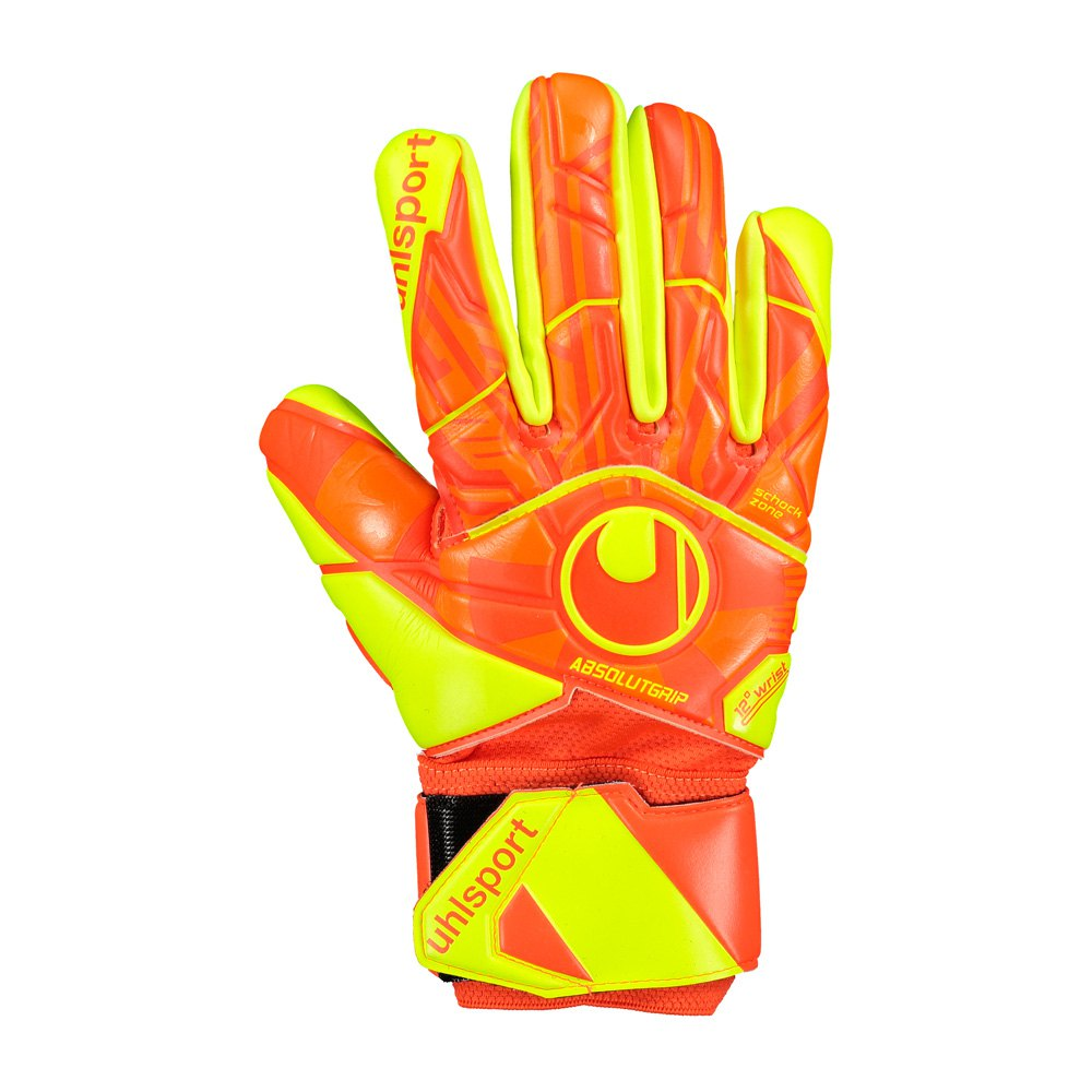 Uhlsport Dynamic Impulse Absolutgrip Half Negative 7 Dynamic Orange / Fluo Yellow