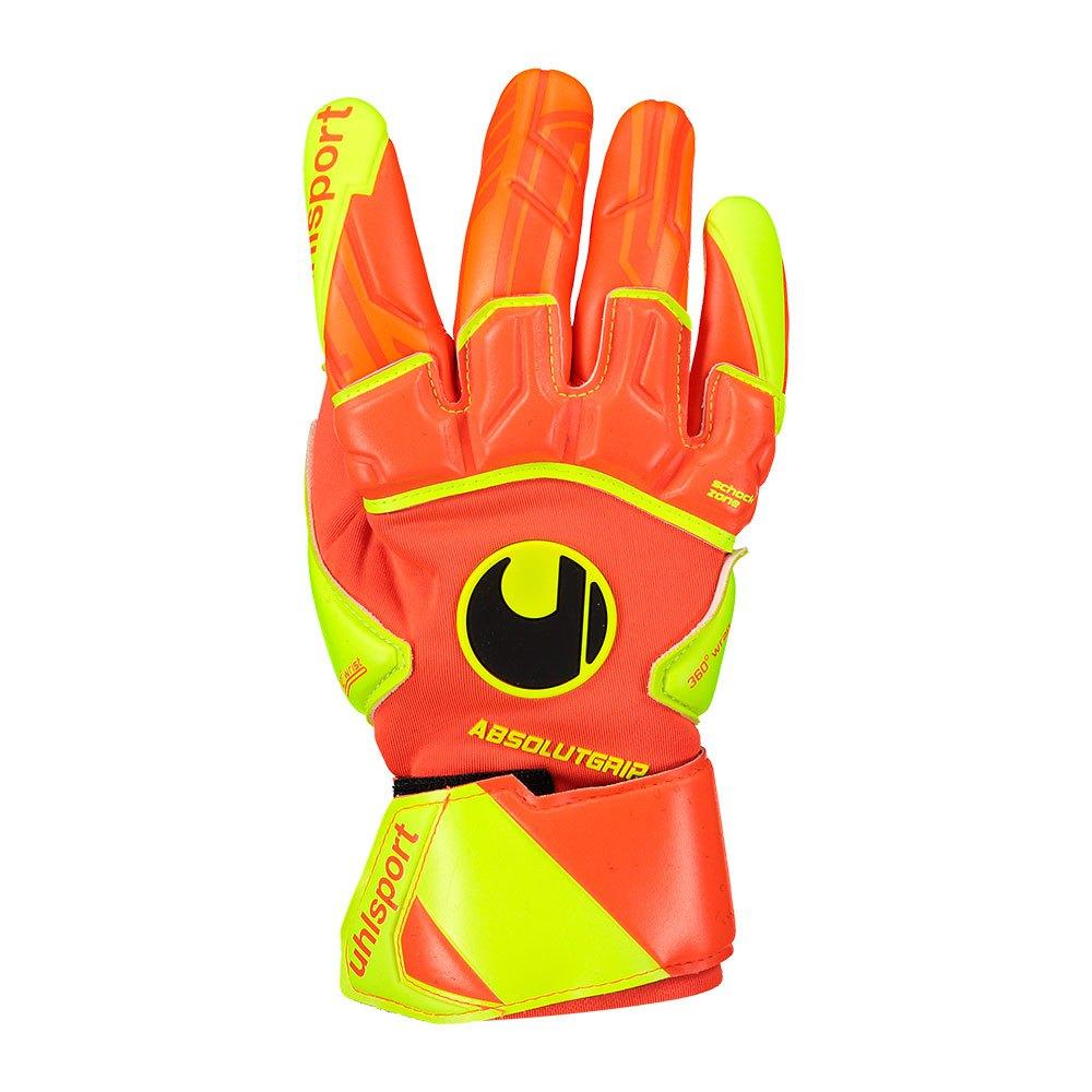 Uhlsport Dynamic Impulse Absolutgrip Reflex 7 Dynamic Orange / Fluo Yellow