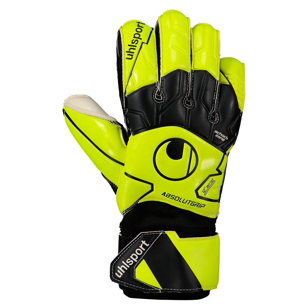 Uhlsport Absolutgrip Flex Frame Carbon 7 Fluo Yellow / Black