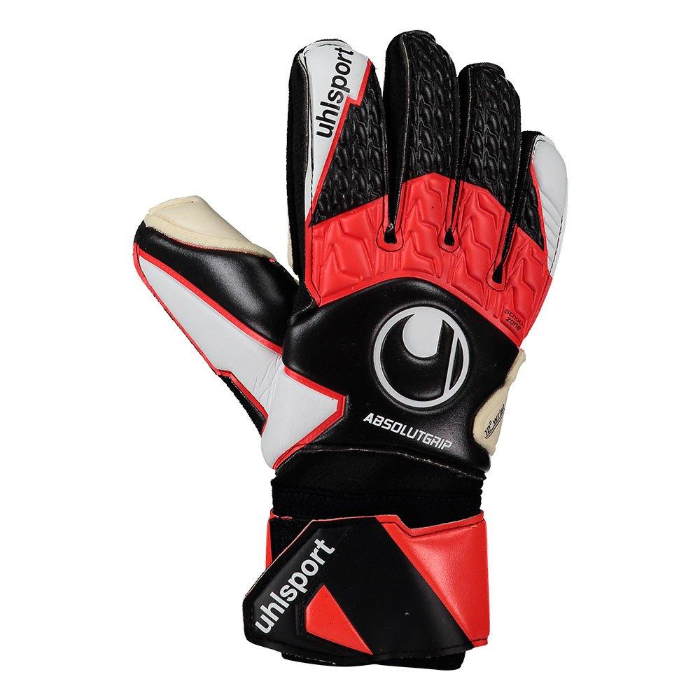 Uhlsport Absolutgrip 5 Black / Red / White