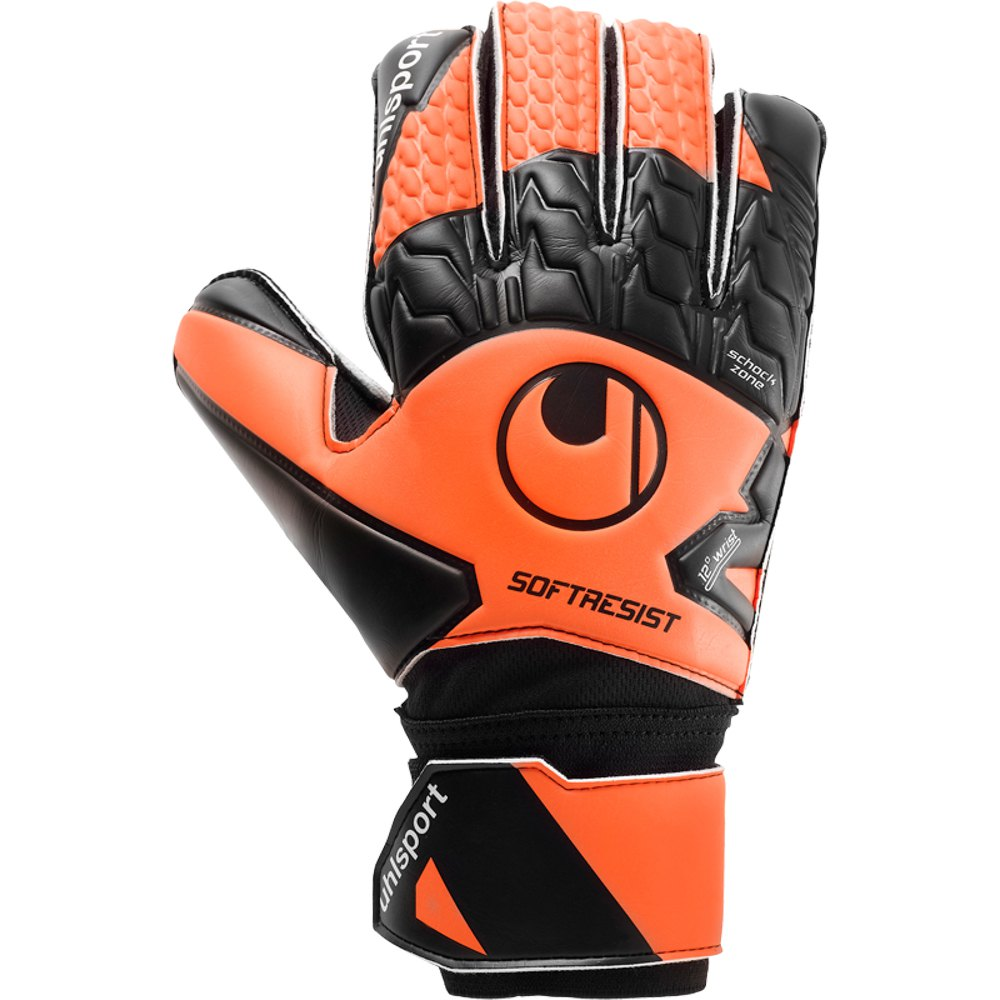 Uhlsport Gants Gardien Soft Resist 5 Fluo Orange / White / Black