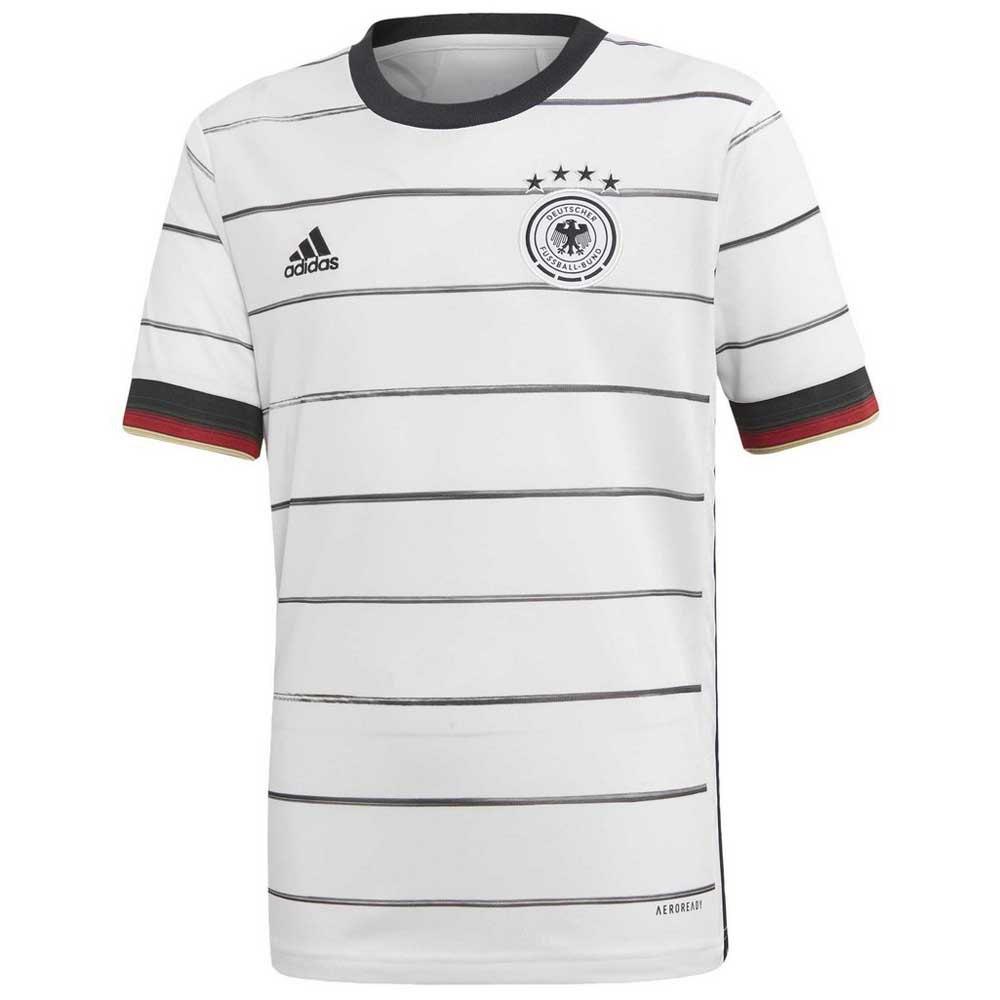 Adidas T-shirt Allemagne Domicile 2020 Junior 140 cm White