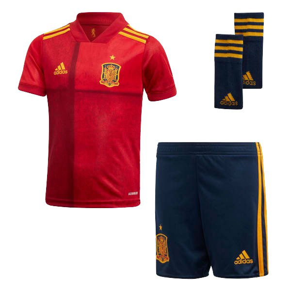 Adidas Spain Home Mini Kit 2020 92 cm Victory Red