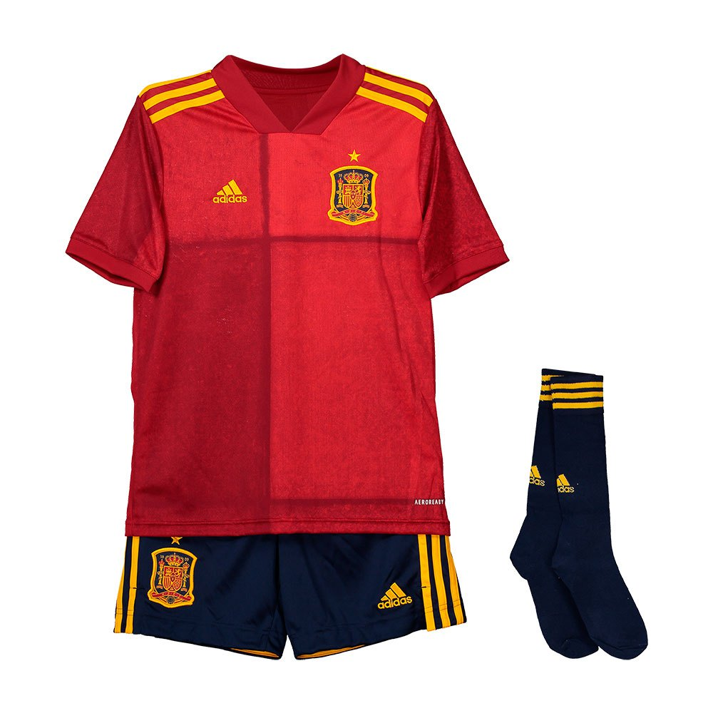Adidas Spain Home Youth Kit 2020 128 cm Victory Red