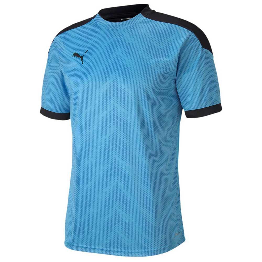 Puma Ftblinxt Graphic Short Sleeve T-shirt S Luminous Blue / Puma Black