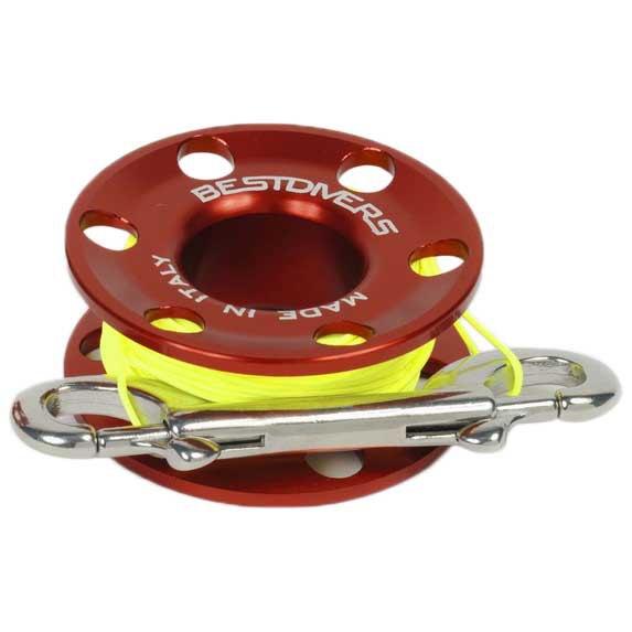 best-divers-reel-aluminium-f29-1-2-mm-15-m-red-yellow