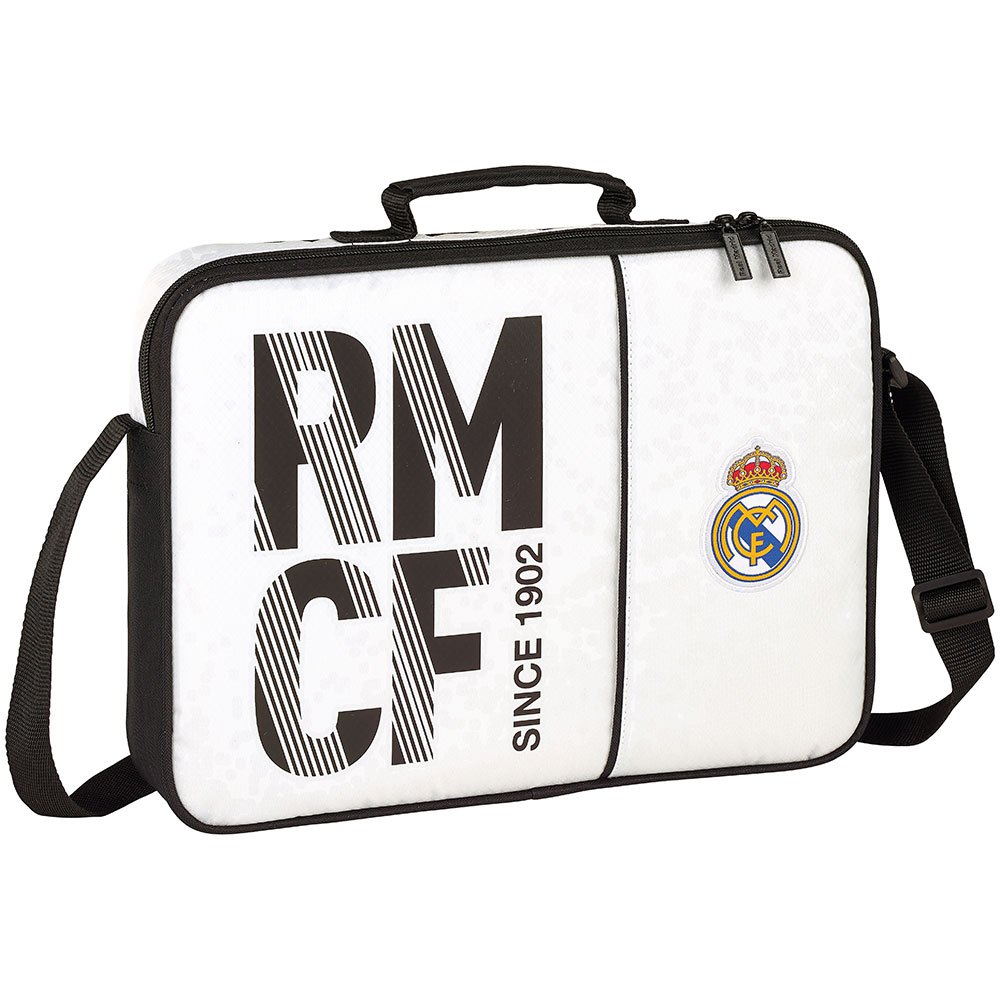 Safta Real Madrid Home 18/19 School 6.4l One Size White / Black