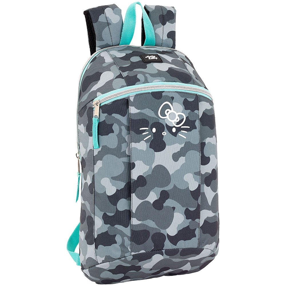 Safta Hello Kitty Camo Mini 8.6l One Size Grey / Black