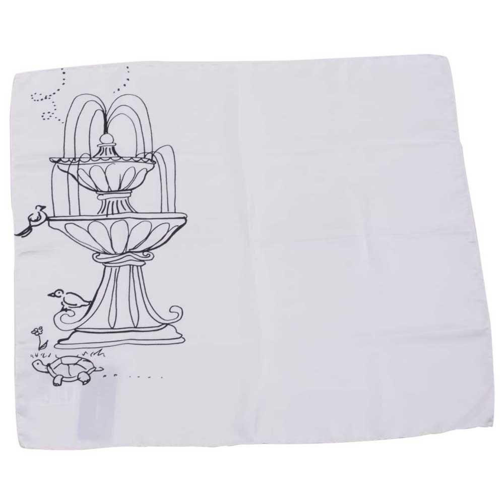 Dolce & Gabbana 723078 Printed Foulard One Size White