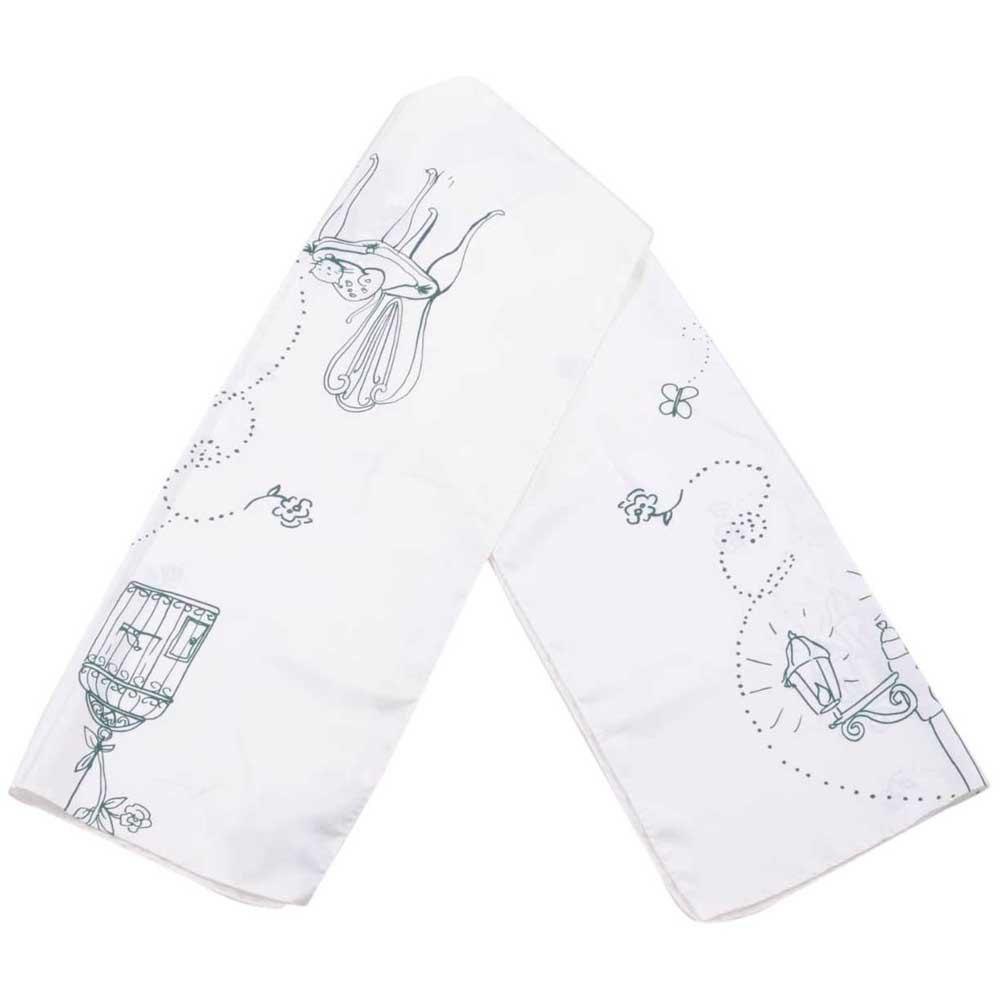Dolce & Gabbana 723094 Printed Foulard One Size White