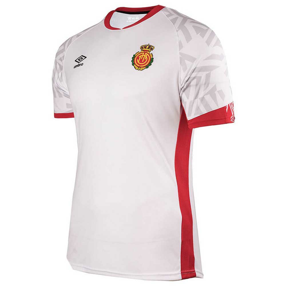 Umbro Rcd Mallorca Extérieur 19/20 Junior 4-6 Years White / Red / Grey