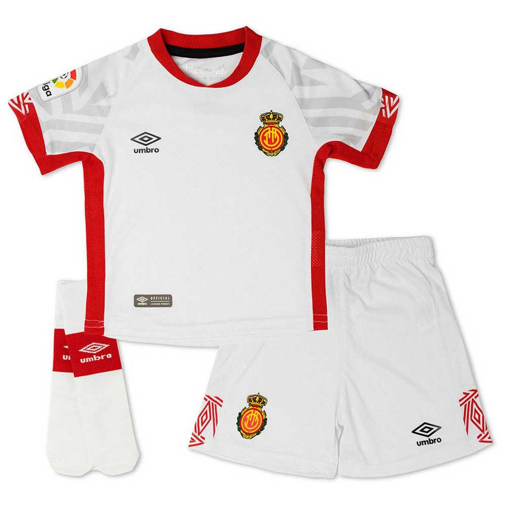 Umbro Rcd Mallorca Extérieur 19/20 Junior 2-3 Years White / Red / Grey