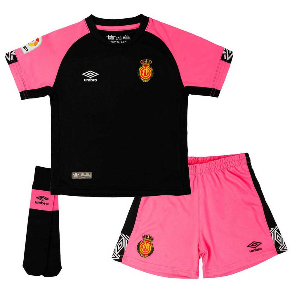 Umbro Rcd Mallorca Troisième 19/20 Junior 4-5 Years Black / Fuchsia / White