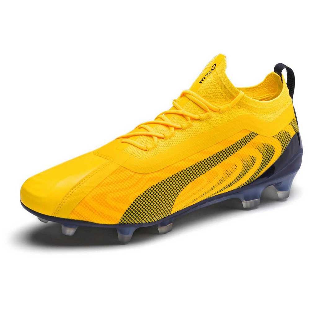 Puma One 20.1 Fg/ag Football Boots EU 40 Ultra Yellow / Puma Black / Orange Alert