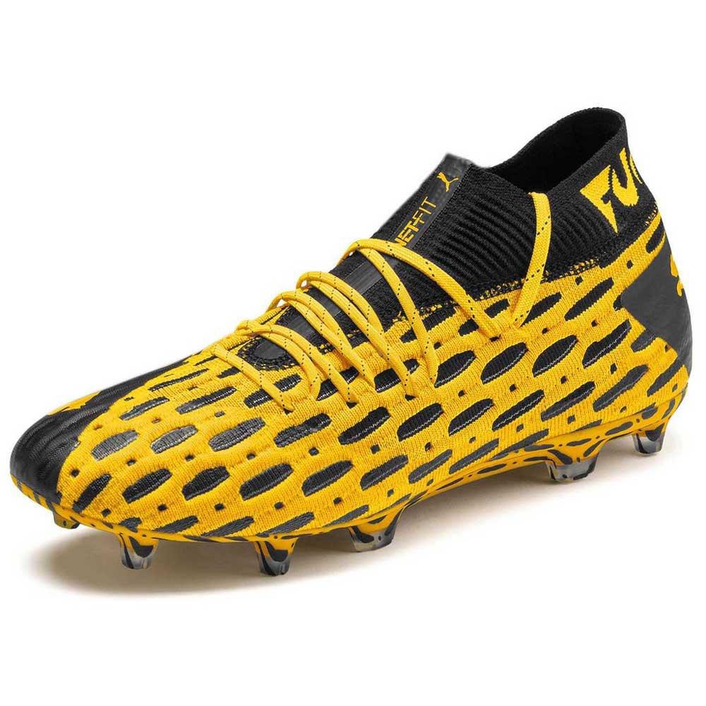 Puma Chaussures Football Future 5.1 Netfit Fg/ag EU 40 Ultra Yellow / Puma Black