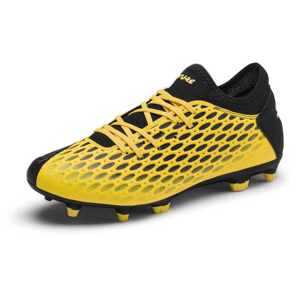 Puma Chaussures Football Future 5.4 Fg/ag EU 41 Ultra Yellow / Puma Black