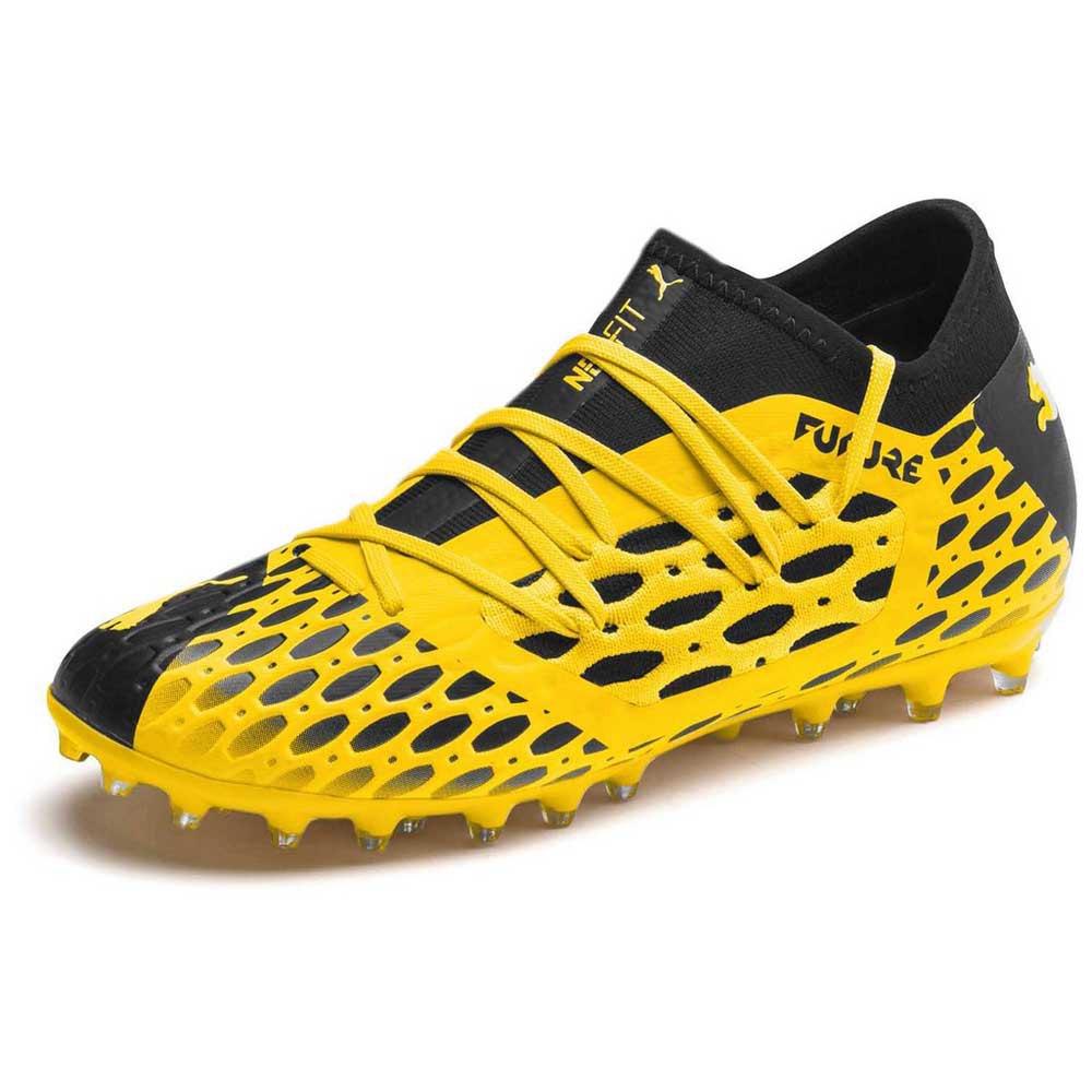 Puma Future 5.3 Netfit Mg EU 38 1/2 Ultra Yellow / Puma Black