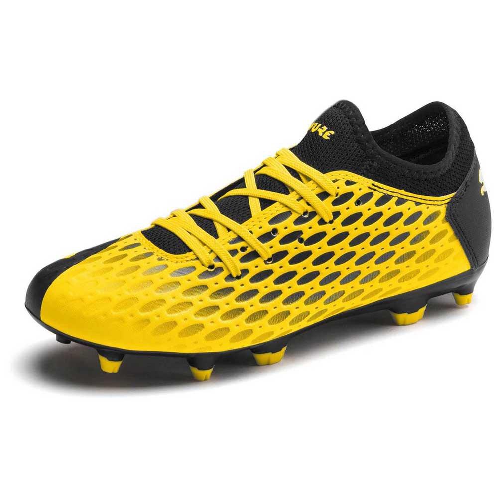 Puma Chaussures Football Future 5.4 Fg/ag EU 38 1/2 Ultra Yellow / Puma Black