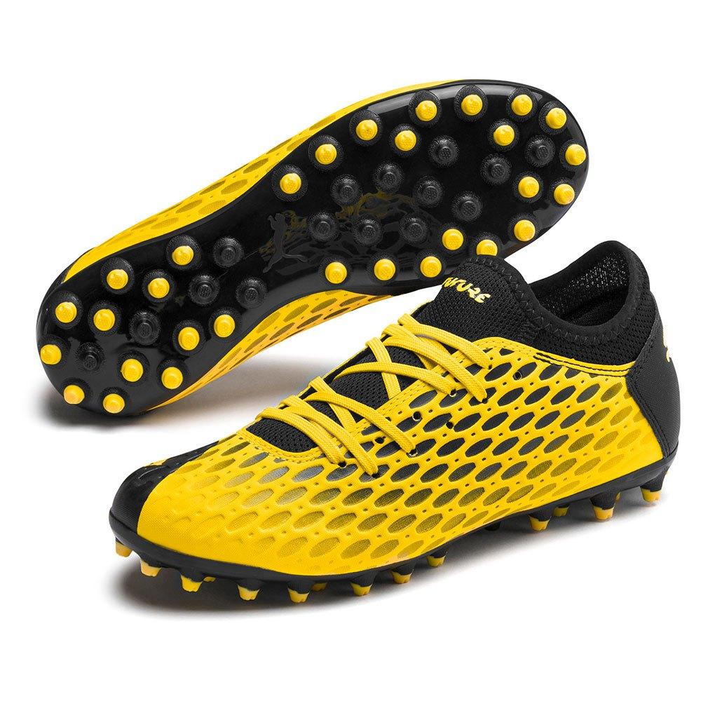 Puma Chaussures Football Future 5.4 Mg EU 38 Ultra Yellow / Puma Black