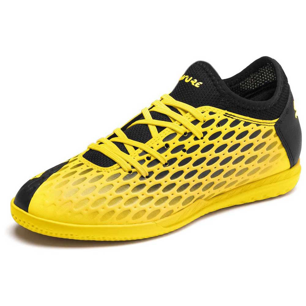 Puma Chaussures Football Salle Future 5.4 It EU 28 Ultra Yellow / Puma Black