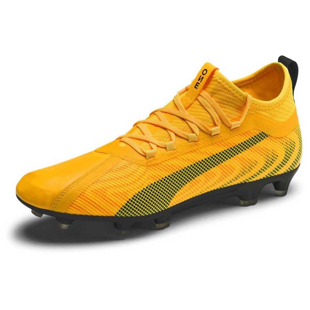 Puma One 20.2 Fg/ag Football Boots EU 41 Ultra Yellow / Puma Black / Orange Alert