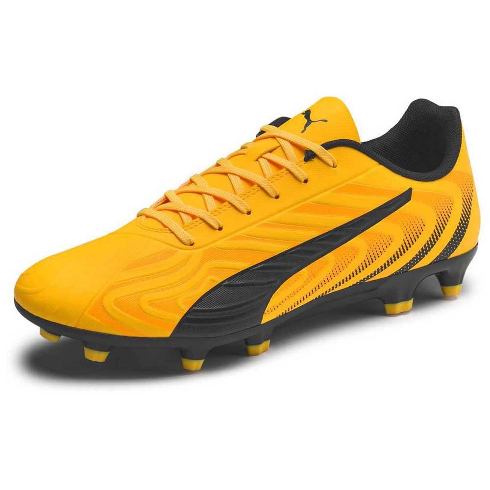 Puma One 20.4 Fg/ag Football Boots EU 42 Ultra Yellow / Puma Black / Orange Alert