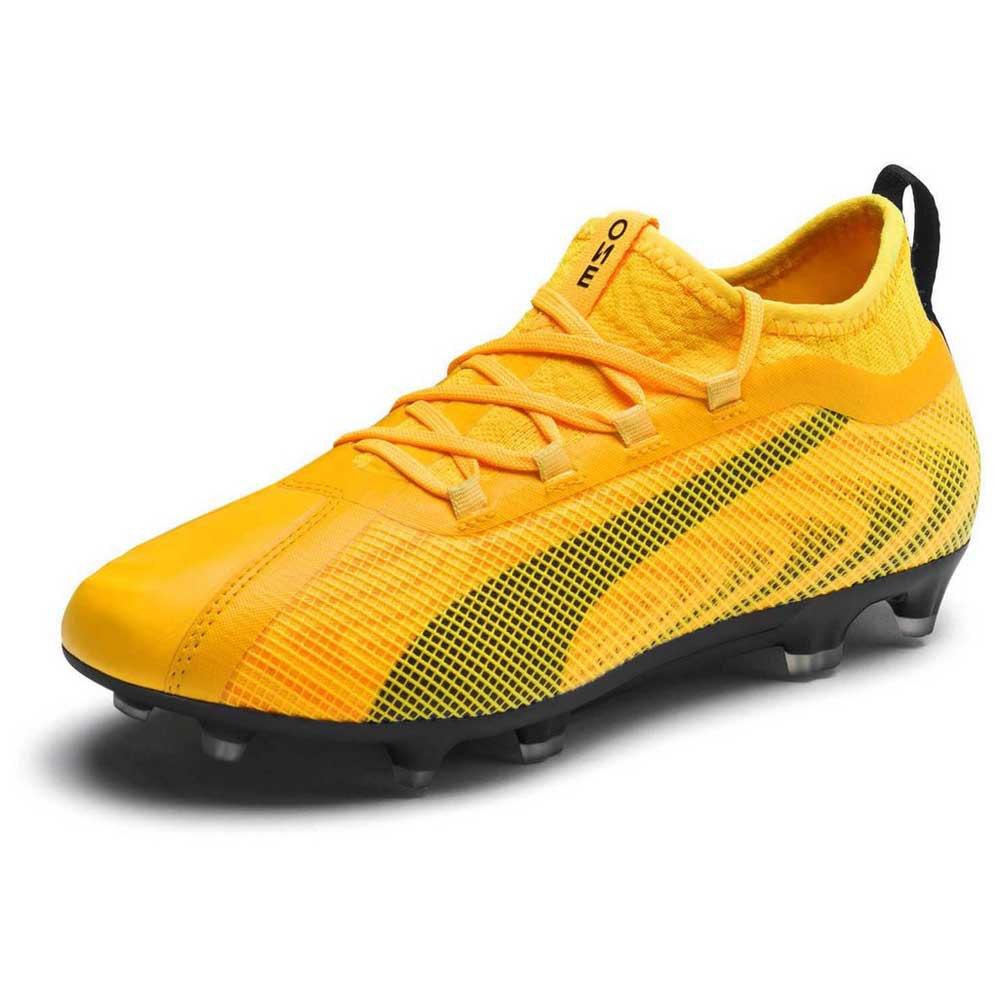 Puma One 20.2 Fg/ag Football Boots EU 36 Ultra Yellow / Puma Black / Orange Alert