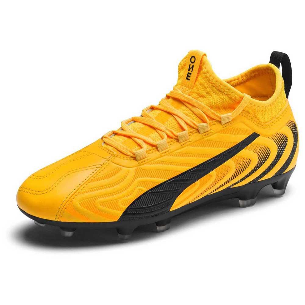 Puma One 20.3 Fg/ag EU 37 Ultra Yellow / Puma Black / Orange Alert