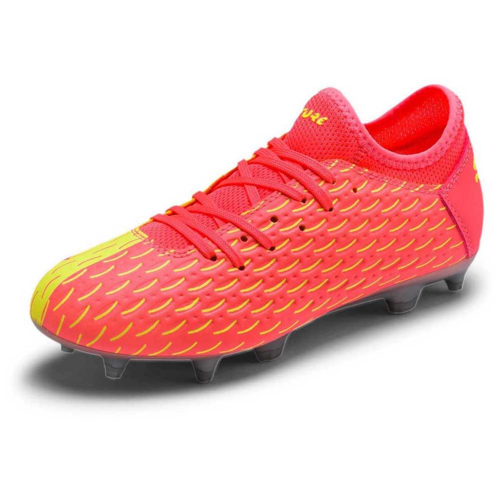 Puma Chaussures Football Future 5.4 Osg Fg/ag EU 28 Nrgy Peach / Fizzy Yellow
