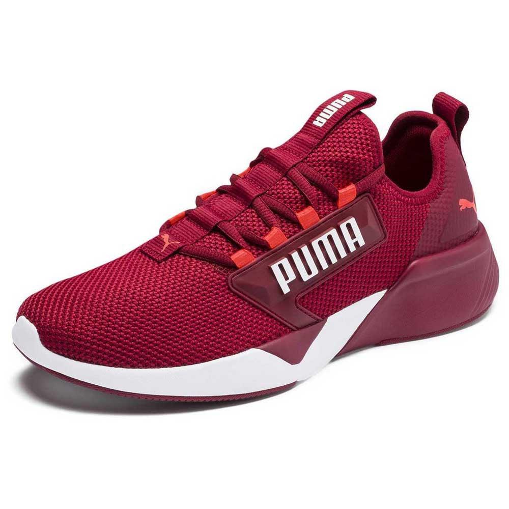 Puma Retaliate EU 40 Rhubarb / Puma White / Nrgy Red