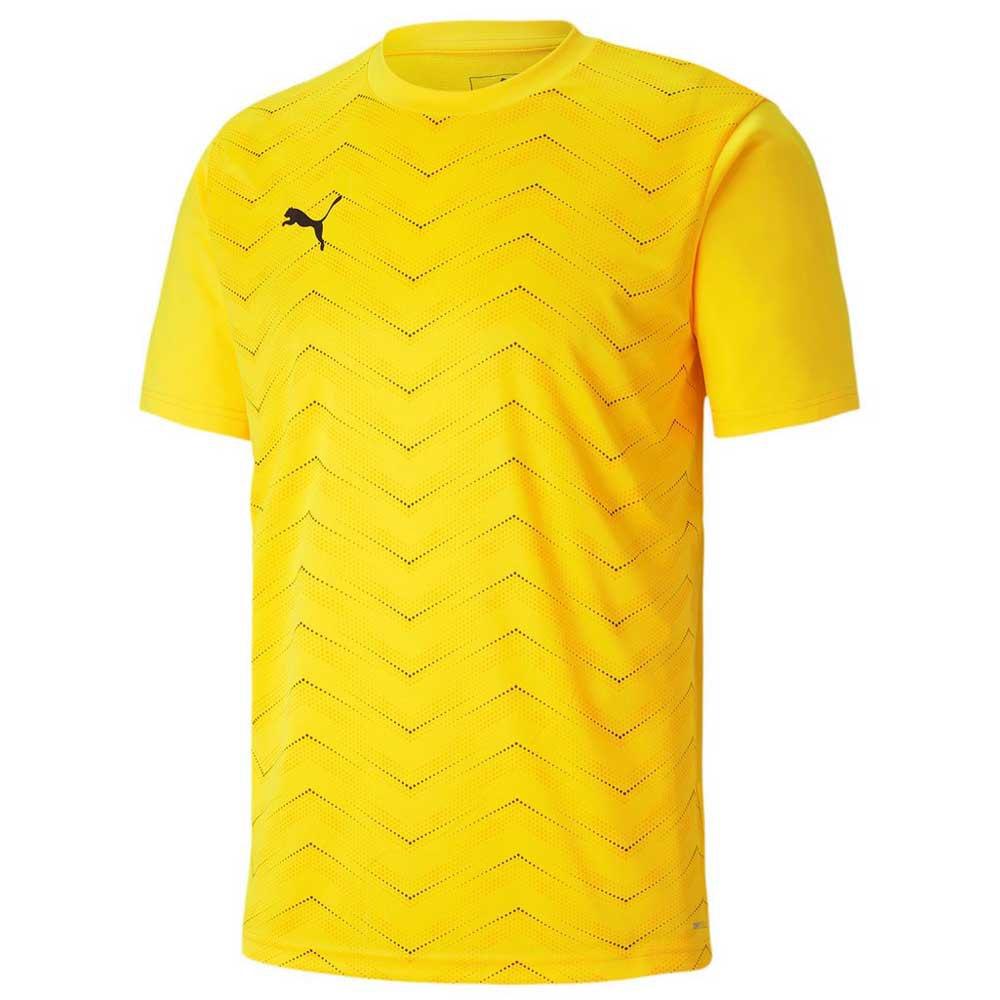 Puma Ftblinxt Graphic Core Short Sleeve T-shirt S Ultra Yellow / Puma Black