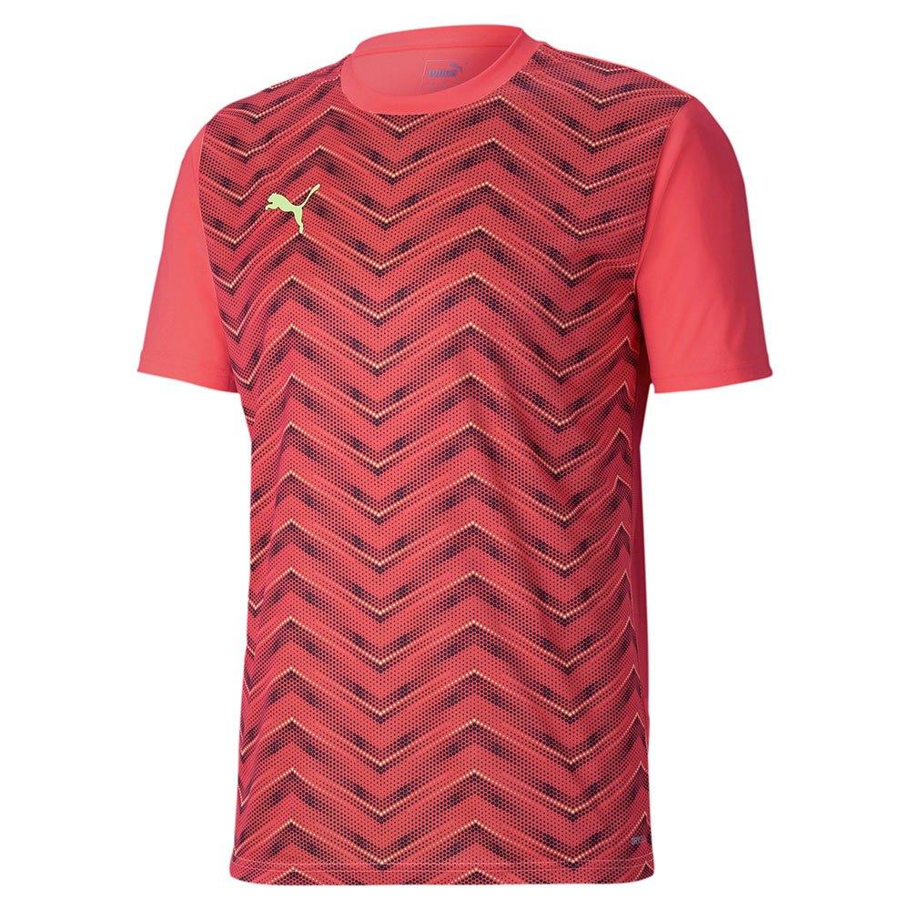 Puma Ftblinxt Graphic Core Short Sleeve T-shirt S Nrgy Peach / Fizzy Yellow