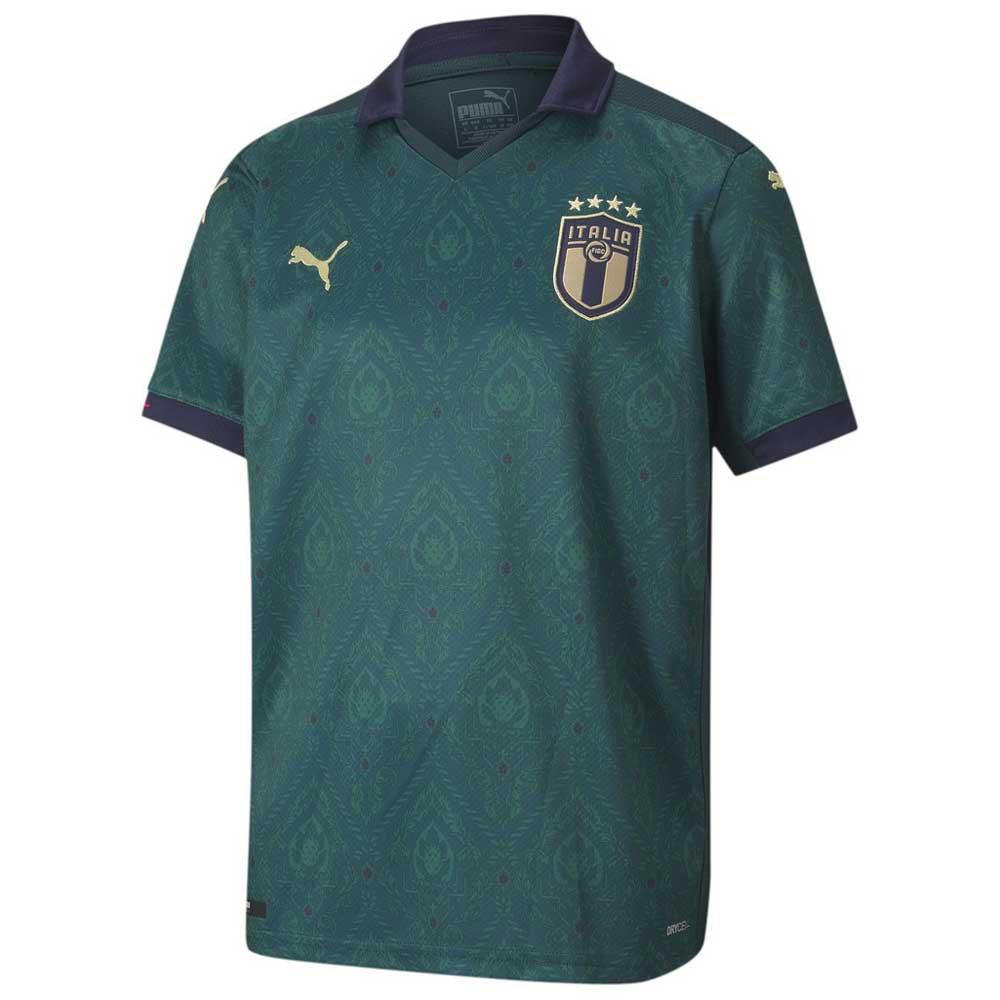 Puma T-shirt Italie Troisième 2020 Junior 152 cm Ponderosa Pine / Peacoat